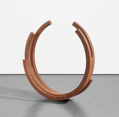 Bernar Venet, '222.5° Arc x 4', 2001