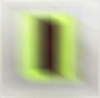 Christiane Grimm, 'Granat auf grün', 2018