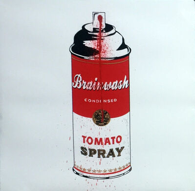 Mr. Brainwash, 'Tomato Spray Can', 2011