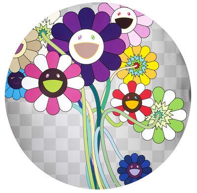 Takashi Murakami, '紫色の花のある花束 Purple Flower in a Bouquet', 2010