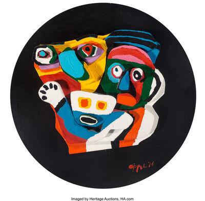 Karel Appel, 'Deux Personnages', 1976