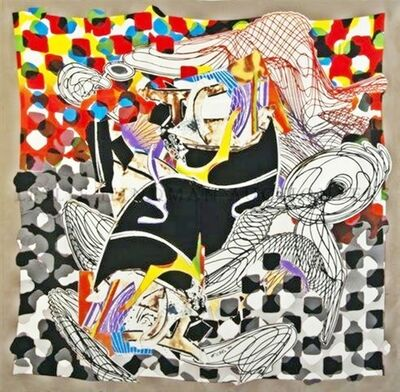 Frank Stella, 'The Whale Watch (with COA signed by Frank Stella)', 1994