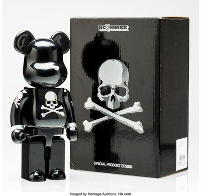 BE@RBRICK X mastermind JAPAN, 'mastermind JAPAN 400% (Black and silver)', 2013