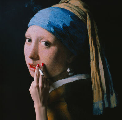 Tyler Shields, 'The Girl with the Pearl Earring', ca. 2018