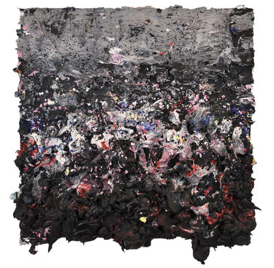 Ismael Lagares, 'BLACK IV', 2016