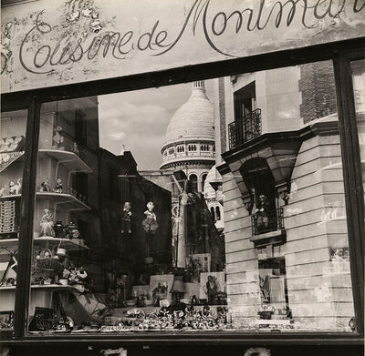 Albert Monier, 'A Reflection of Sacré-Cœur in a Paris Toy Store Window', 1950s/1950s