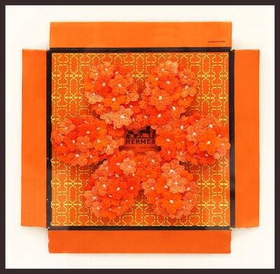 Stephen Wilson, 'Hermes Flower Flower, Orange', GFA1183