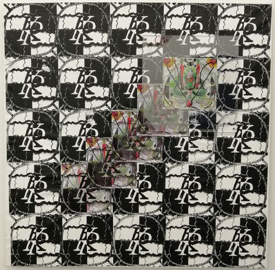 Koi Persyn, 'Framed collages (4) Pan & Echo', 2020