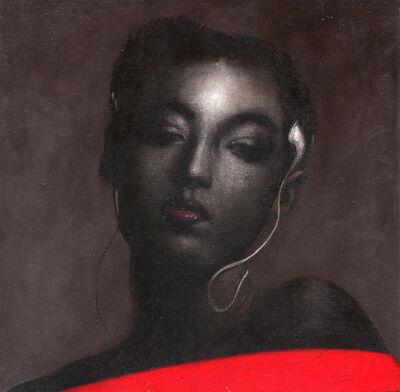 Omar Galliani, 'Fiori insetti santi', 2007