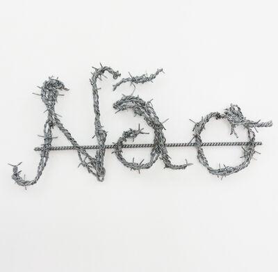 Yazid Oulab, 'Não', 2014