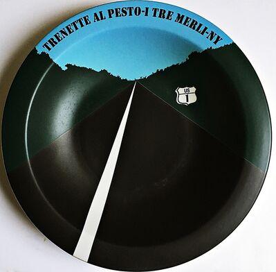 Allan D'Arcangelo, 'Trenette Al Pesto - I Tre Merli - New York, NY', 1998
