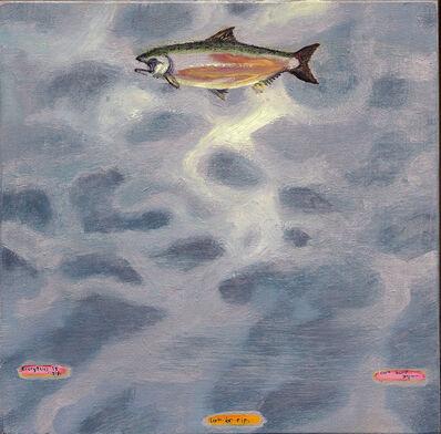 Dan Attoe, 'Salmon Sky', 2003