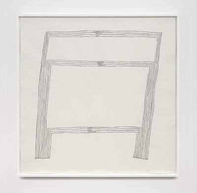 Christine Sun Kim, 'Three Tables III (AGB, HPA, DTS)', 2020