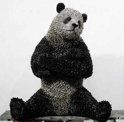 Federico Uribe, 'Lifesize Panda', 2018