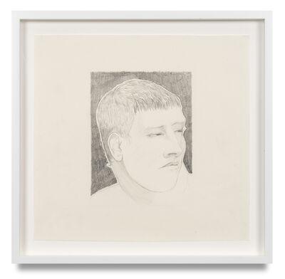 William Brickel, 'A Young Man's Head', 2021