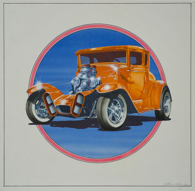 Alan Magee, 'The Kandy-Kolored Tangerine-Flake Streamline Baby', 1973