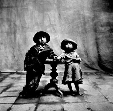 Irving Penn, 'Cuzco Children', 1948