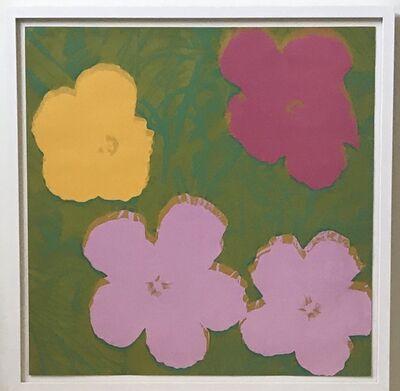 Andy Warhol, 'Flowers F&S II.68', 1970