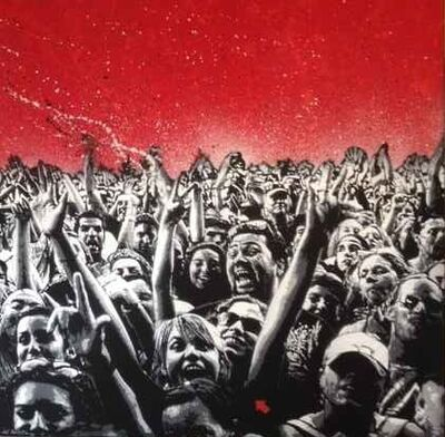 Jef Aérosol, 'THE CROWD ', 2013