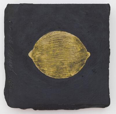 Donald Sultan, 'Lemon, 19 January', 1989
