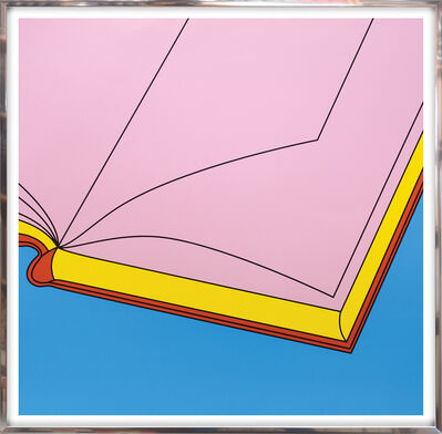 Michael Craig-Martin, 'Book.', 2019