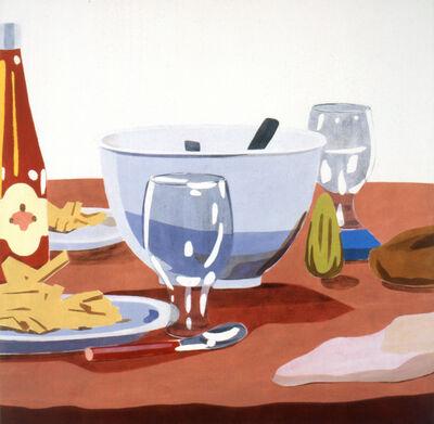 Mari Kuroda, 'La Table /Ma vie en Rose', 2003