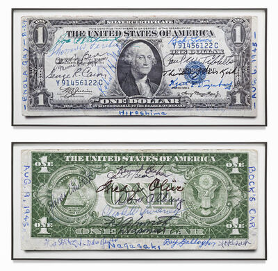 Gert Jan Kocken, '1 Dollar Silver Certificates', 2012