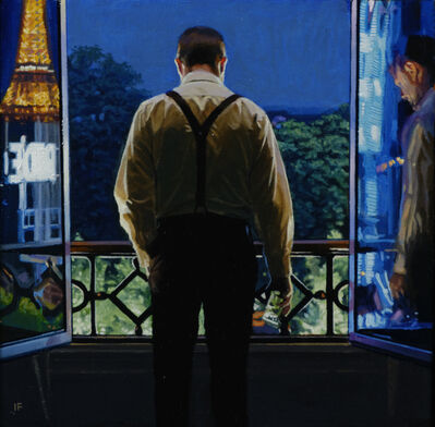 Iain Faulkner, 'Tuileries Garden, Evening', 2020