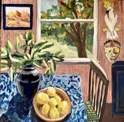 Kate Nielsen, 'Daphne With Lemons & Orange Tree', 2021