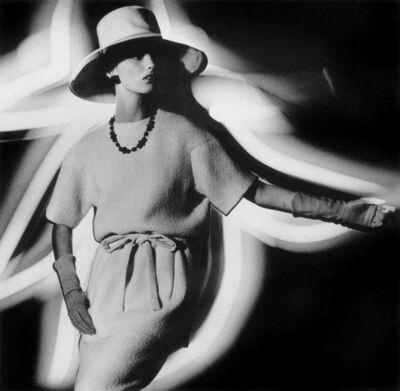 William Klein, 'Dorothy + Light Hat profile, Paris (Vogue)', 1962