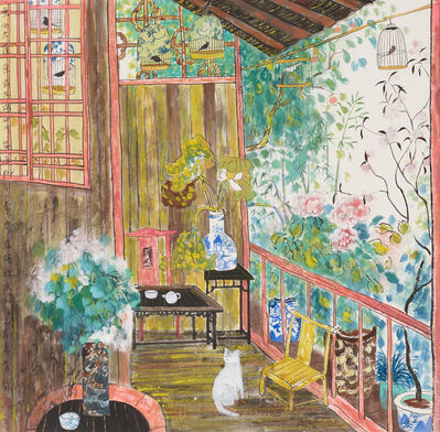 Fang Xiang, 'Spoiled Cat of the House', ca. 2000