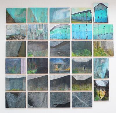 Soledad Sevilla, 'Serie de 30 pinturas', 2013