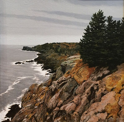 Peter Sculthorpe, 'Across Gull Cove - Monhegan Island, Maine', 2019