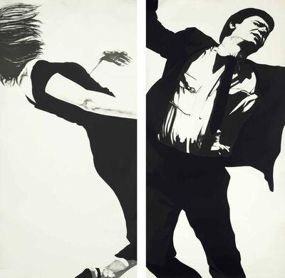 Robert Longo, 'Joanne & Larry', 1983