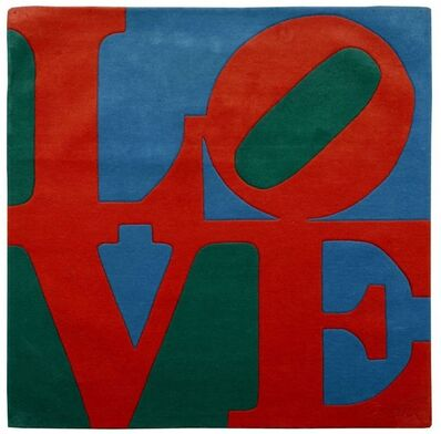 Robert Indiana, 'Chosen Love (Red/Green/Blue)', 2011