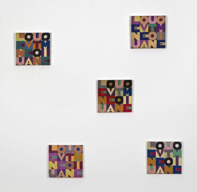 Alighiero Boetti, 'Le Nuove Autonomie', 1979