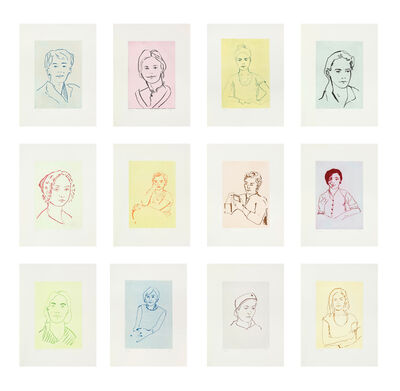 Thomas Schütte, 'Twelve Portraits', 2014