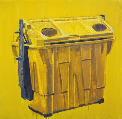 Ignacio Pérez-Jofre, 'Soporte encontrado (Contenedor amarillo)', 2014