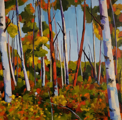 Jenn Hallgren, 'Birch Garden ', 2019