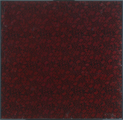 Mimmo Rotella, 'Colata di fiori', 1975