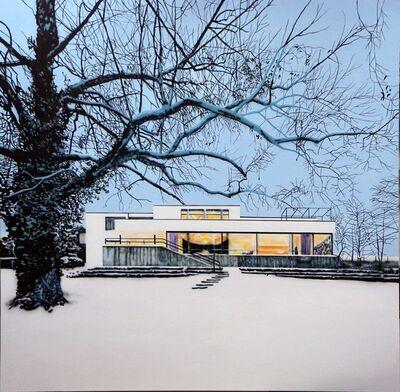 Eamon O'Kane, 'Villa Tugenhadt In Snow', 2019