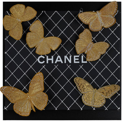 Stephen Wilson, 'Chanel Gilt Butterflies', 2019