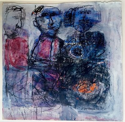 Betty Goodwin, 'Abstract Figures', 1966