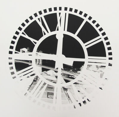 Vera Lutter, 'Clock Tower, Brooklyn, June 29', 2009