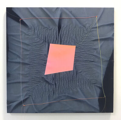 Chris Duncan, 'Ghost Pattern (Pink on Blue)', 2018