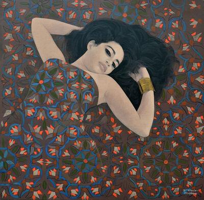 Hend Adnan, 'Lotus 1', 2017