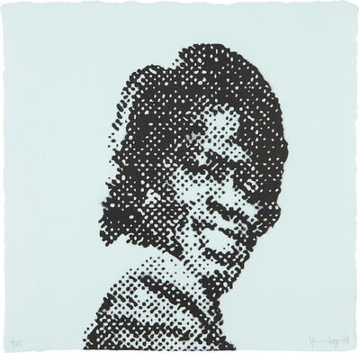 Glenn Ligon, 'Self Portrait at Nine Years Old (James Brown)', 2008