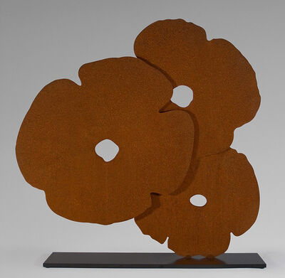 Donald Sultan, 'Corten Poppies', 2015