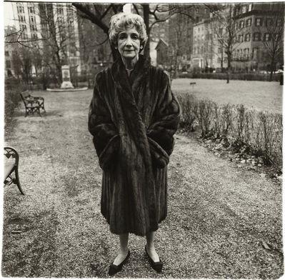 Diane Arbus, 'Mildred Dunnock, N.Y.C.', 1964