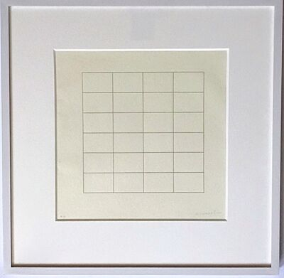 Agnes Martin, 'On A Clear Day #18', 1973